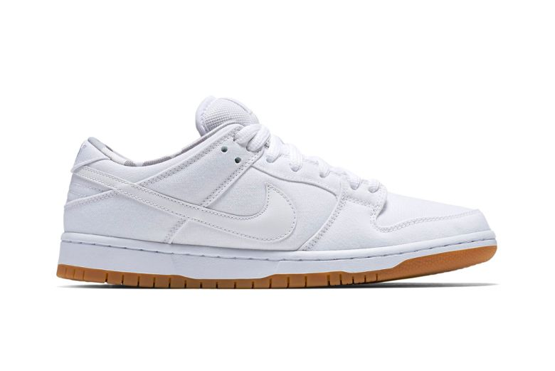 nike sb dunk low white