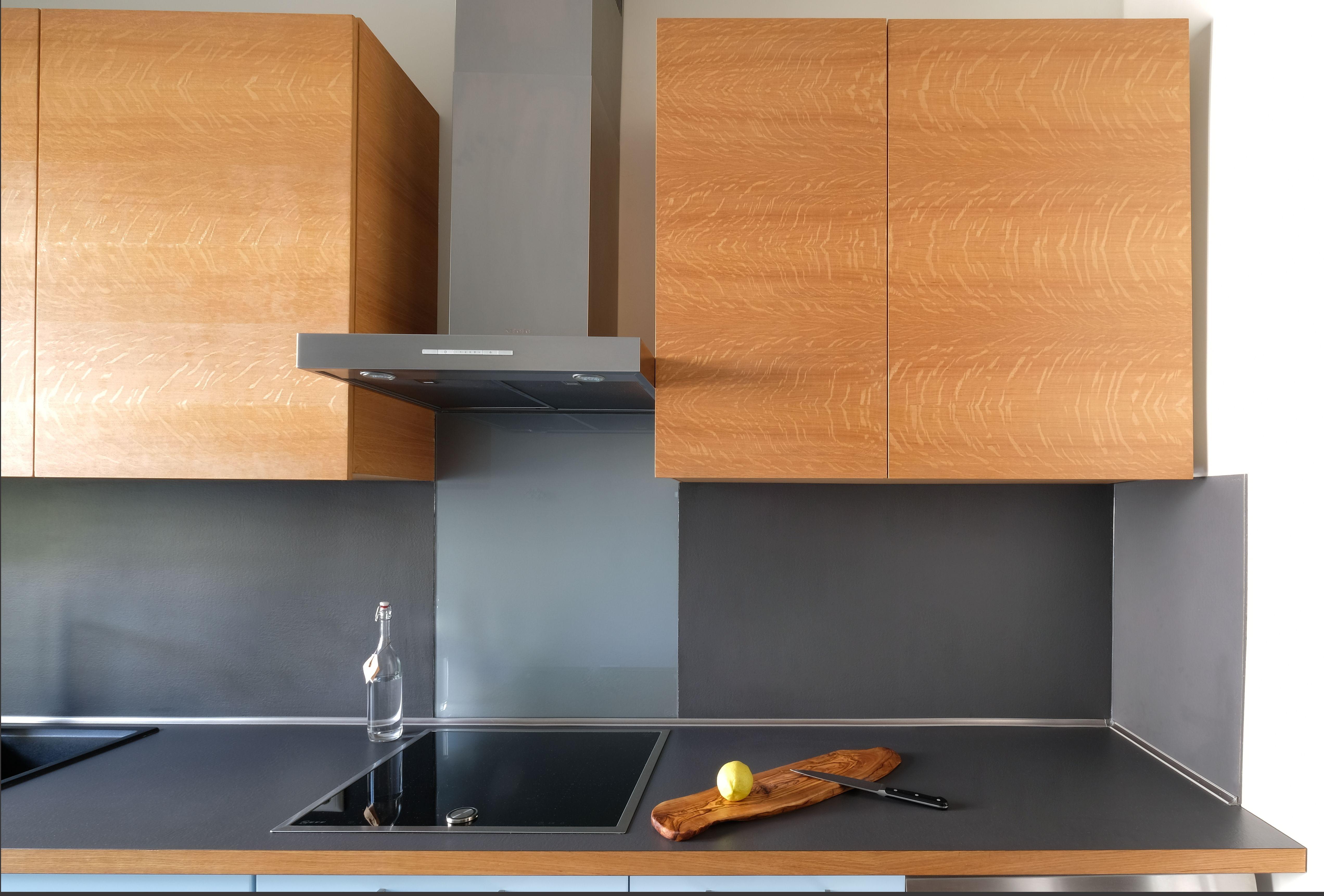 Arbeitsplatte und Rückwand in Abet-Laminati-Schichtstoff | Küche in ...