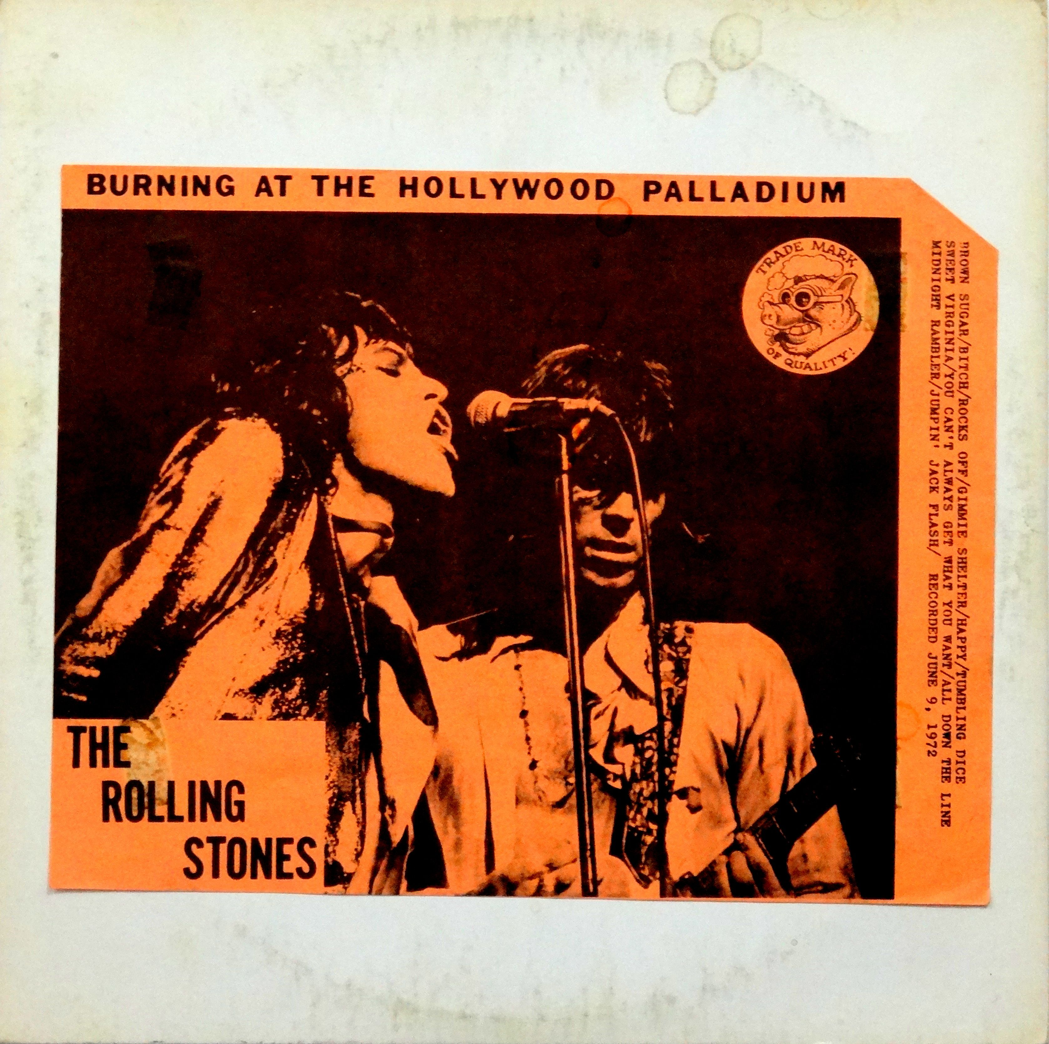 TMOQ: The Rolling Stones 'Burning at the Hollywood Palladium' 9 June 1972, good mono recording