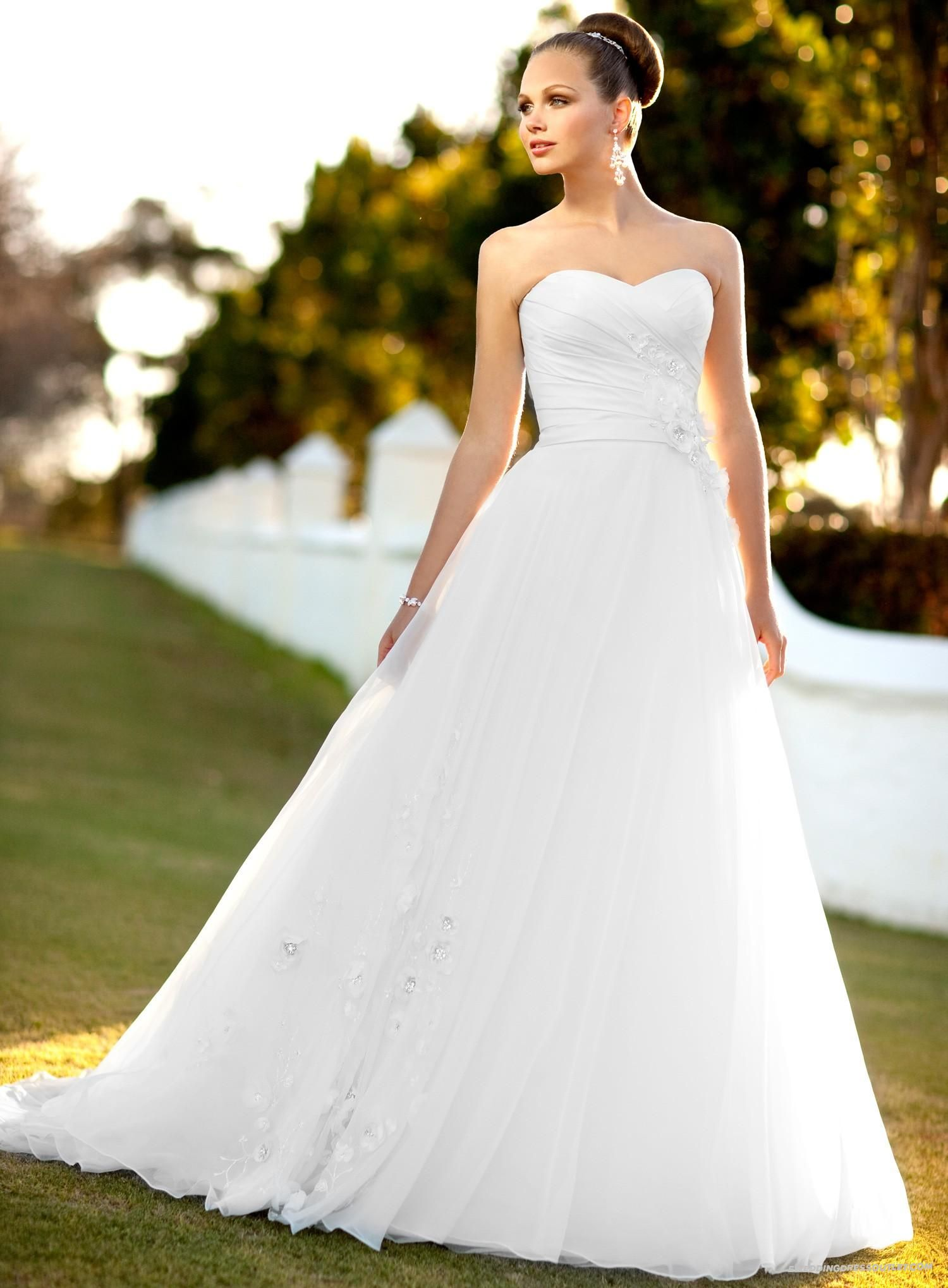 Fishtail wedding dress bespoke (Vera wang style) hoop