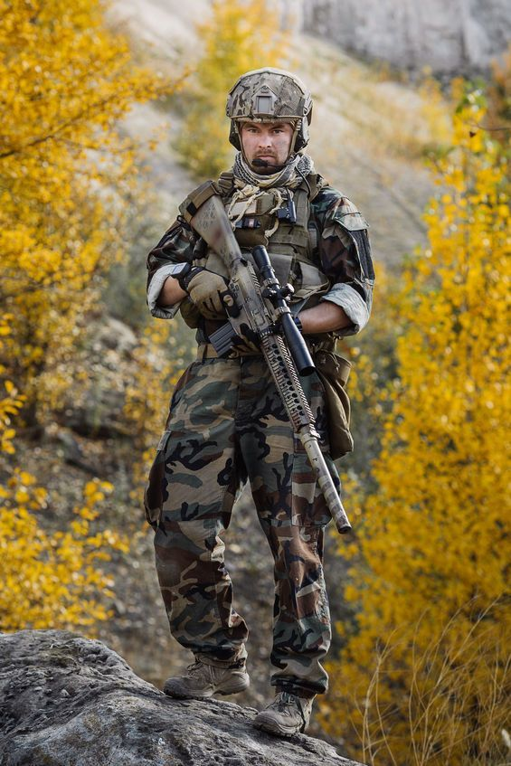Military Tactical Loadout Us Spec Ops Special Forces