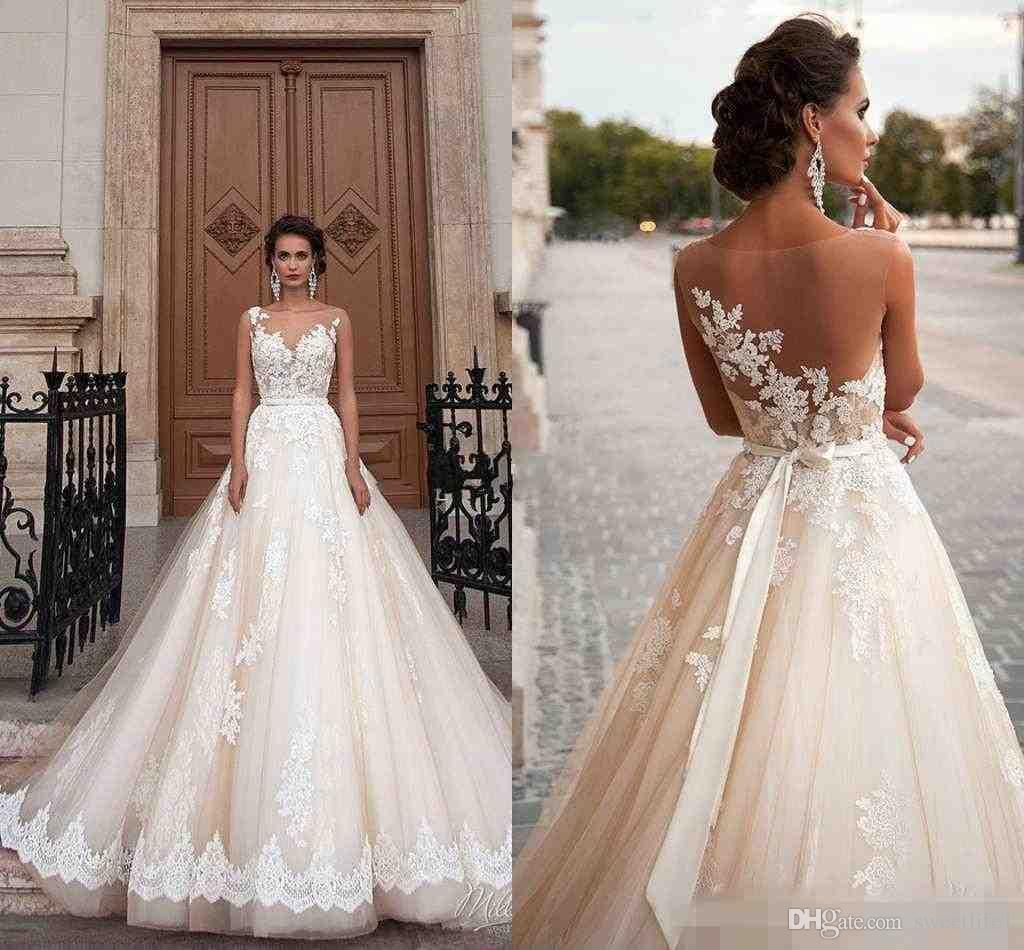 Discount Stunning 17 Milla Nova Sheer Castle Princess Wedding