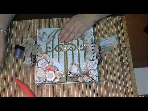 Fabscraps French Hertiage Mini - ScrapbookingwithME Boutique - YouTube