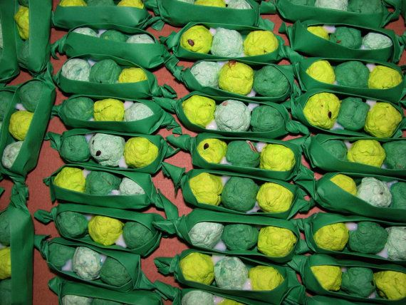 Baby Shower Favors Seeds ~ Pea pod seed bomb baby shower favors davita on etsy