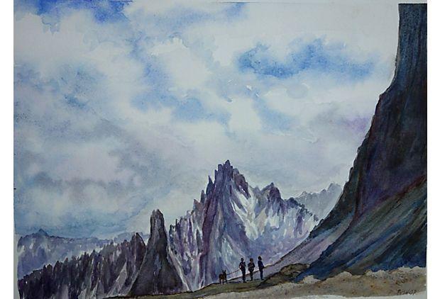 Mountain Hikers By P. Bishop on OneKingsLane.com