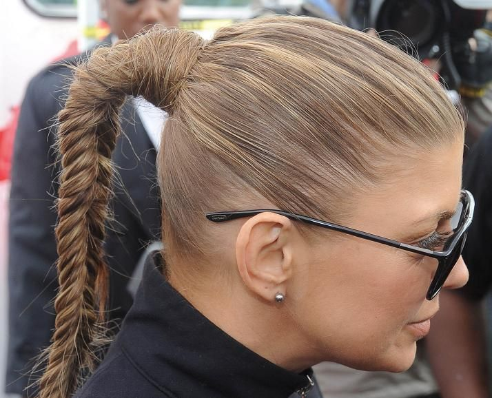 Pubic Hairstyles Endearing Braided Ponytail  Hair  Pinterest  Popular Hairstyles