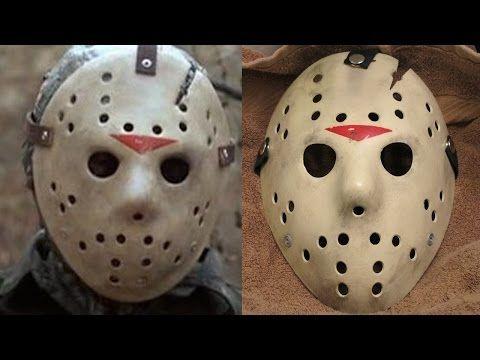 Make A Friday The 13th Part 6 Jason Mask Diy Painting Tutorial Youtube Diy Mask Jason Mask Diy Painting