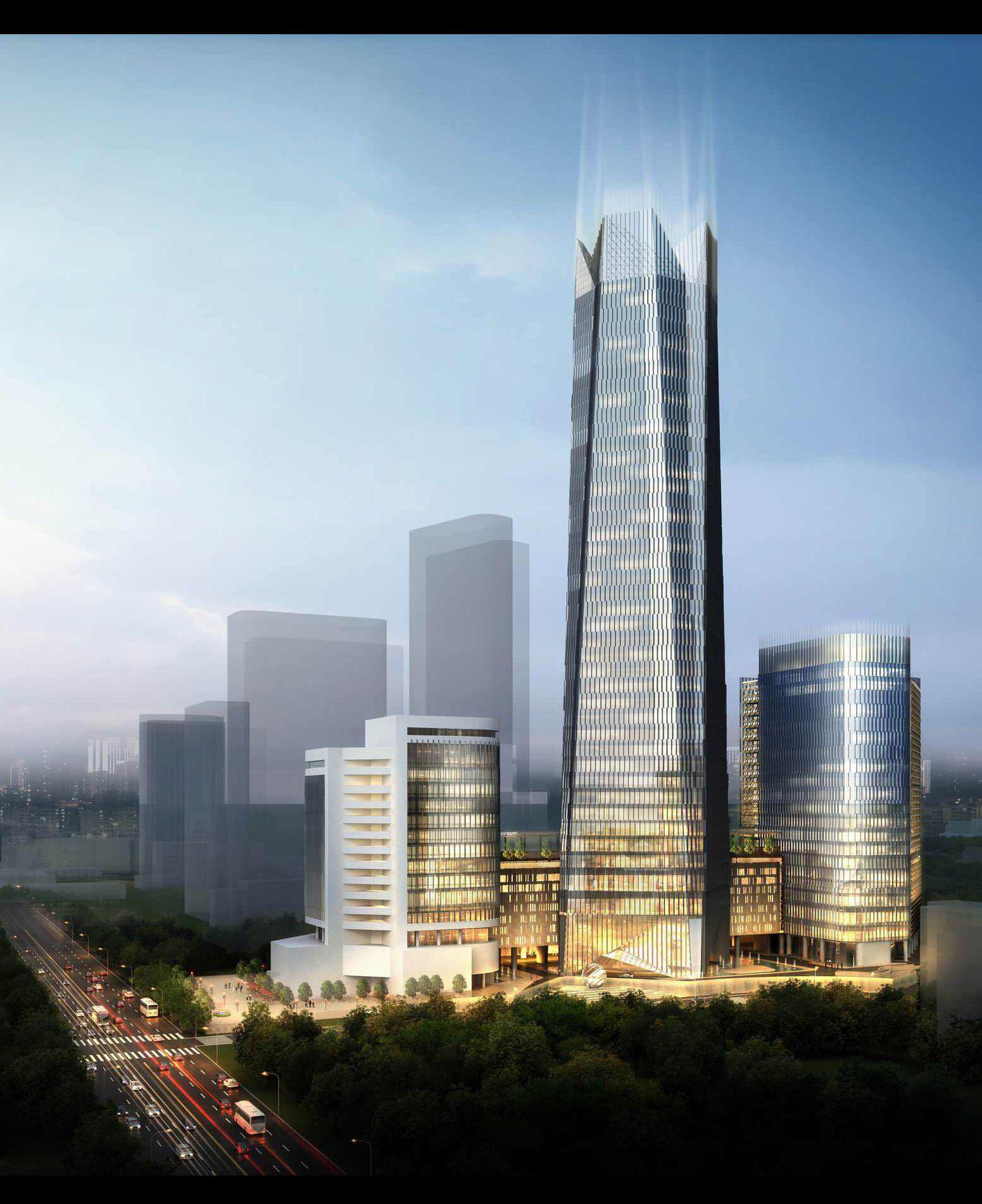 Central Park Apartments Jakarta: Telkom Landmark Tower At Gatot Subroto CBD, South Jakarta