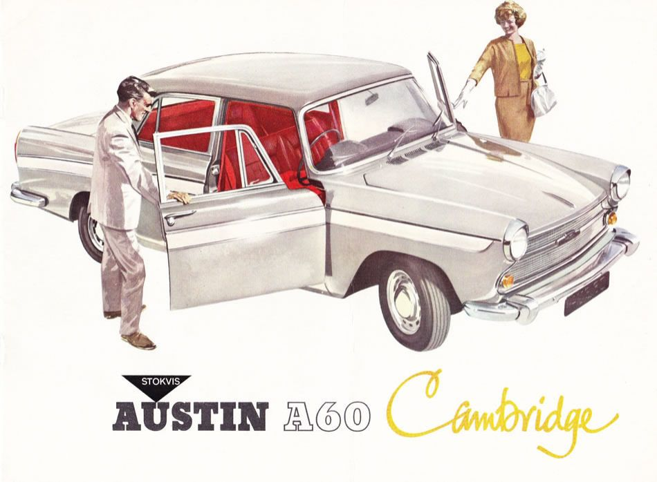 Austin A60 Cambridge Brochure