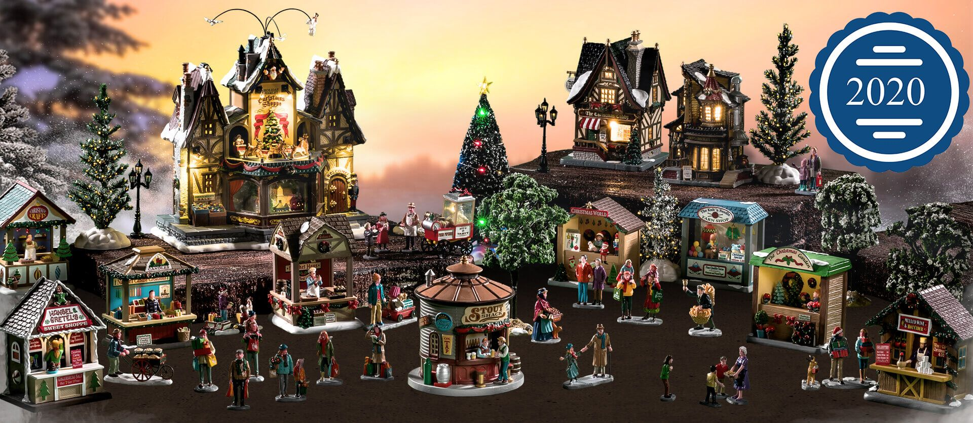Lemax 2020 Christmas Village House Lemax 2020 Holiday & Christmas Villages in 2020 | Lemax village