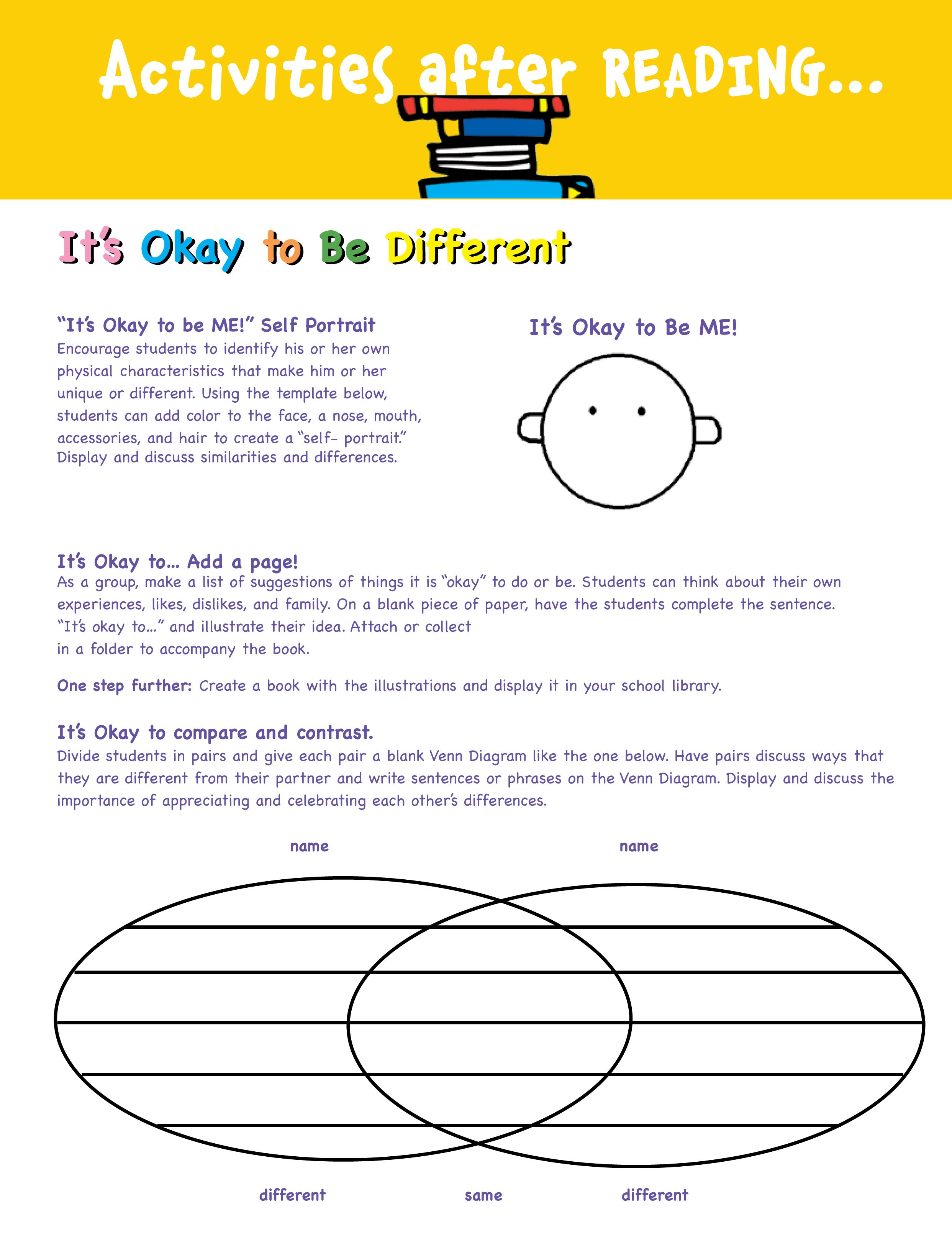 Todd Parr Activity Page 1 Of 3
