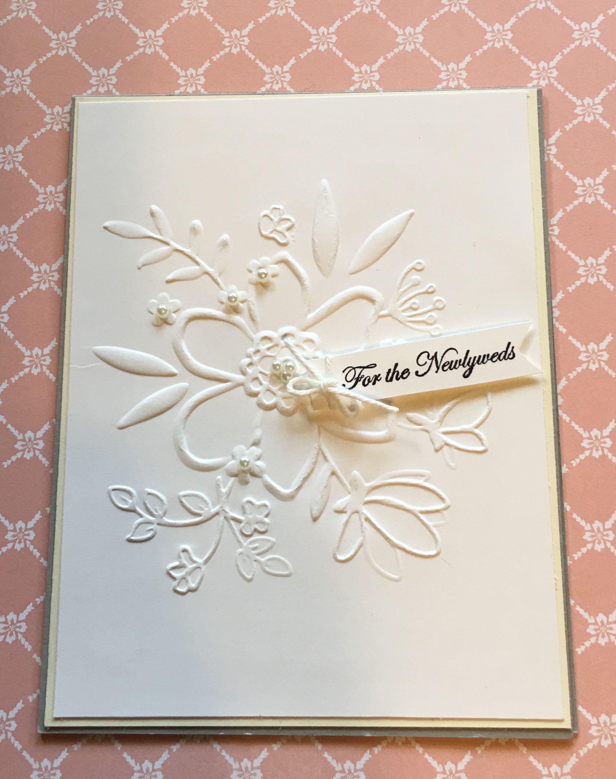 Simple And Elegant Wedding Card I Used The New Share What You