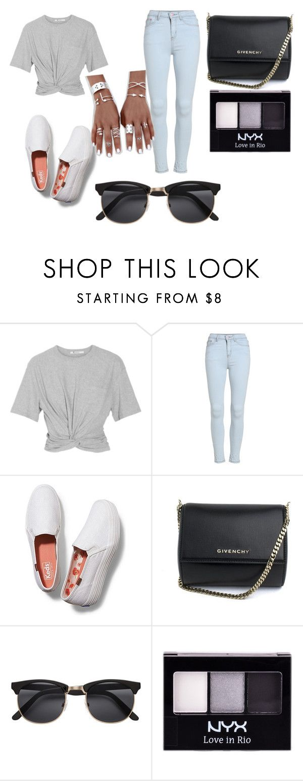 """Untitled #199"" by fashionista-67-189 ❤ liked on Polyvore featuring T By Alexander Wang, Keds, Givenchy and NYX"