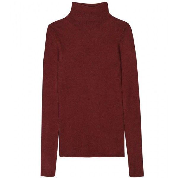 Dear Cashmere Cashmere Turtleneck Pullover ($352) ❤ liked on Polyvore
