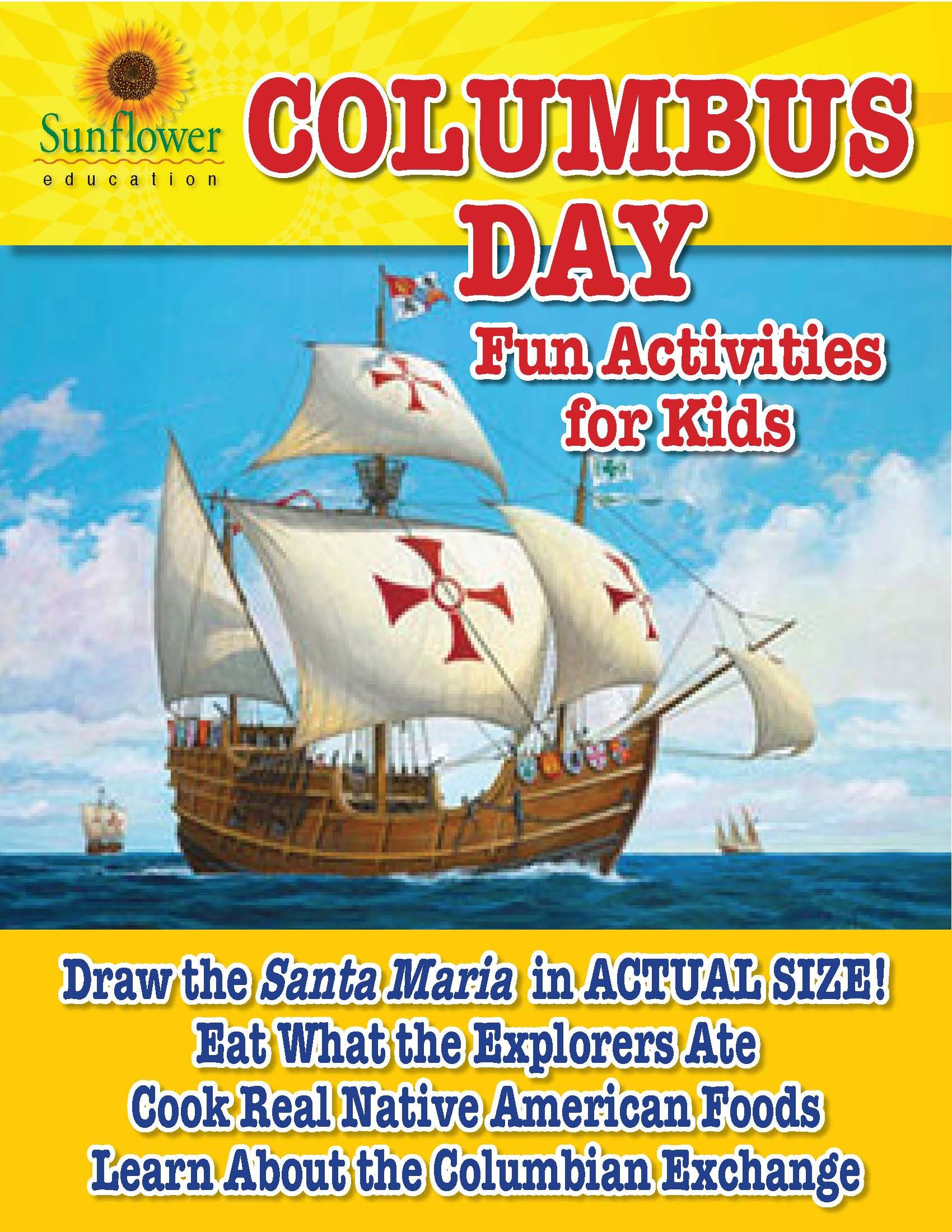Columbus Day Activities for Kids Social studies for kids
