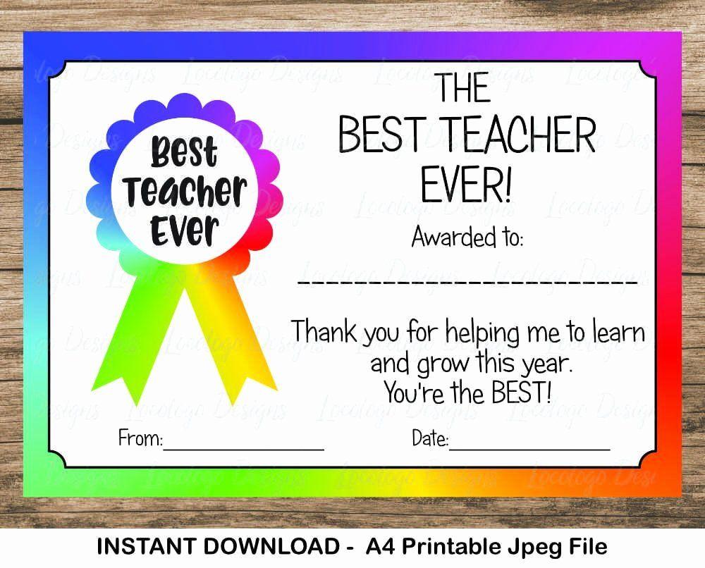 Best Teacher Award Certificate Best Of Pin By Marelize Jooste On Designs Teacher Awards Teacher Certification Best Teacher