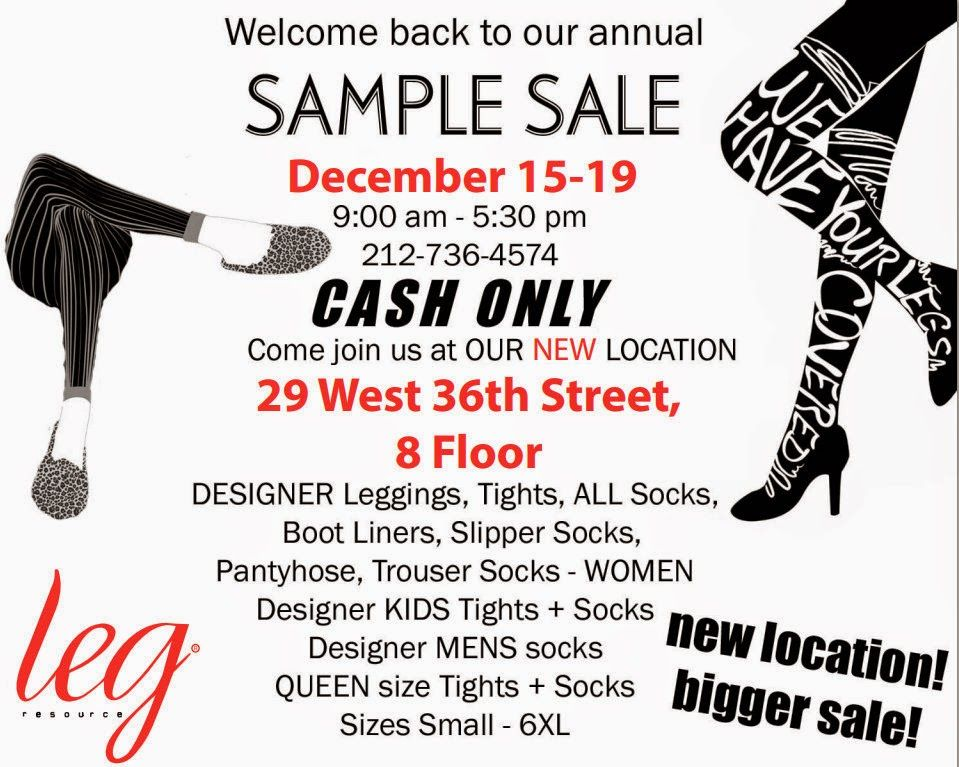 Shopping #NYC Leg Resource 2014 Holiday #SampleSale