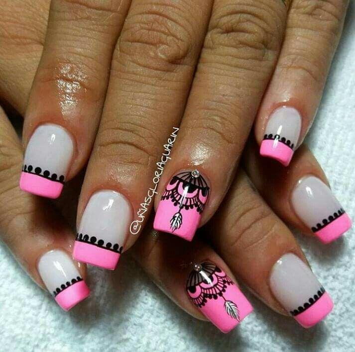 Pin de SHARLEAN M en NAILS 3 | Pinterest | Diseños de uñas ...