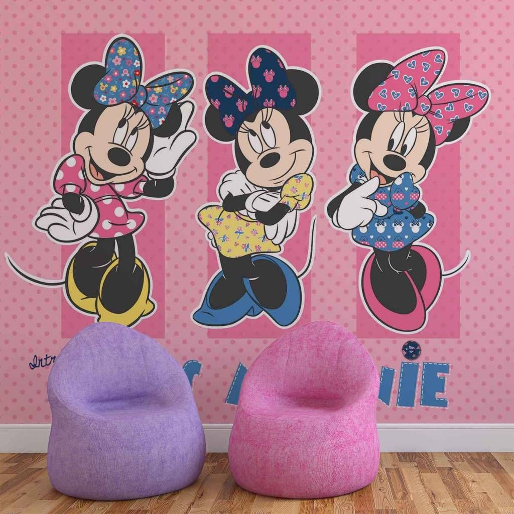 Minnie Mouse Wall Mural Kids Decor By Graham And Brown Part 77