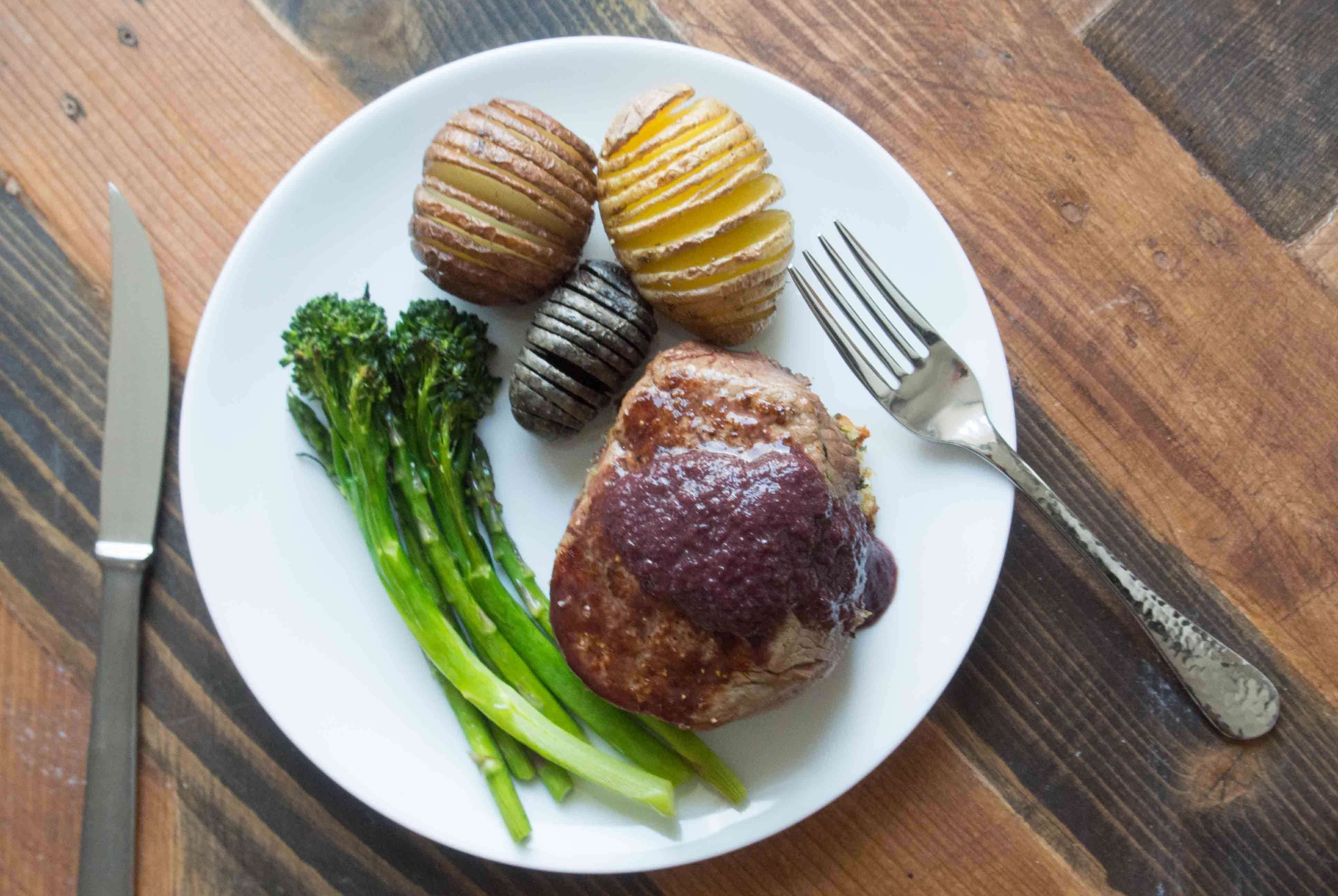 I am a meat and potatoes kind of girl. It's how I grew up, it's what I like, and I can't deny it. I don'tcook a lot ofsteaks at home though. I think steak is just one of t…