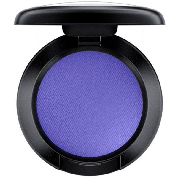 Mac Zinc Blue Matte Eye Shadow (50 BRL) ❤ liked on Polyvore featuring beauty products, makeup, eye makeup, eyeshadow, beauty, eyes, filler, mac cosmetics and mac cosmetics eyeshadow