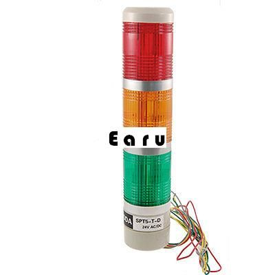 Factory Supplied Ac Dc 24v Red Green Yellow Led Flash Lamp Industry Tower Stack Signal Light Led Indicator Led Machine Tools