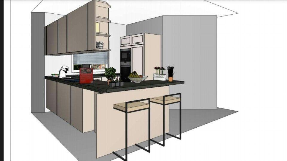 Küche 3D COCINA Pinterest - ikea küchenblock freistehend