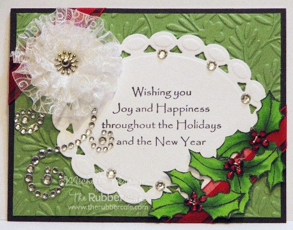 Rubber Cafe - Seasonal Wish by istamp31 - Cards and Paper Crafts at Splitcoaststampers