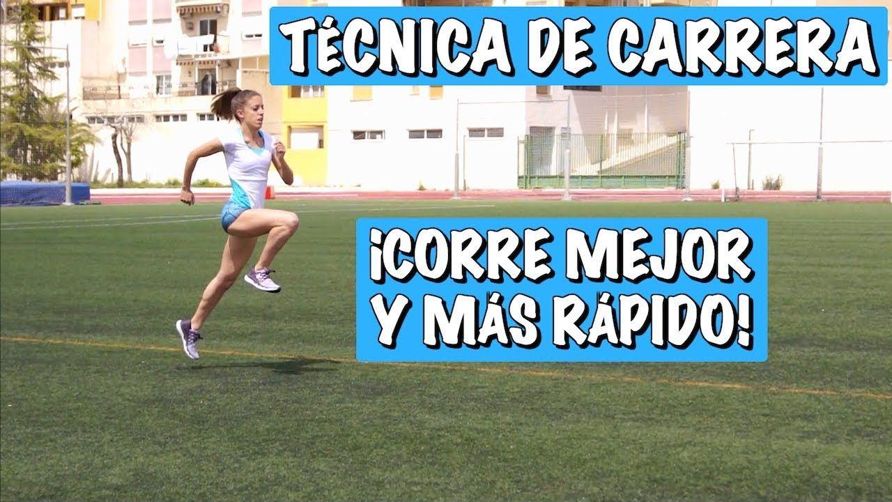 TÉCNICA DE CARRERA para correr mejor y más rápido