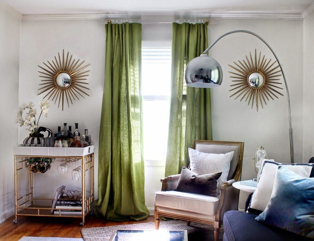 Clearly Chic Try Invisible Curtain Rods To Power Up Your Style