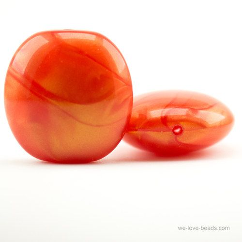 30 X 30 Kissen Perle 1pcs Kissen Orange Und Acryl