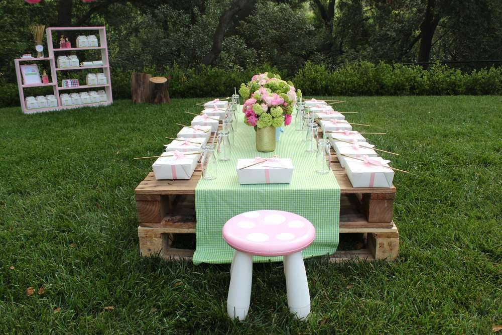 Fairy Birthday Party Ideas | Photo 10 of 61 | Catch My Party