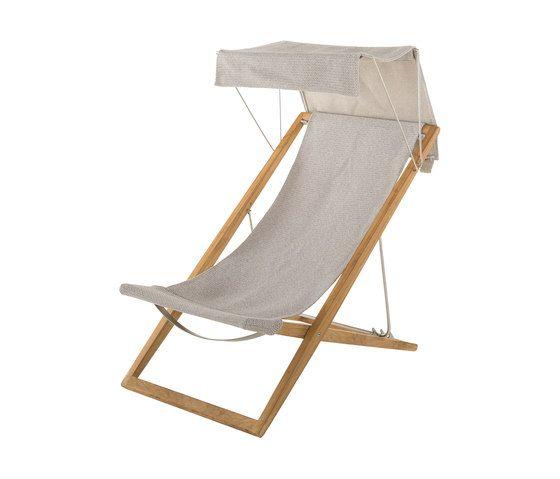 Cosette sdraio con tettuccio di unopi outdoor furniture deck chairs outdoor chairs - Sdraio giardino ikea ...