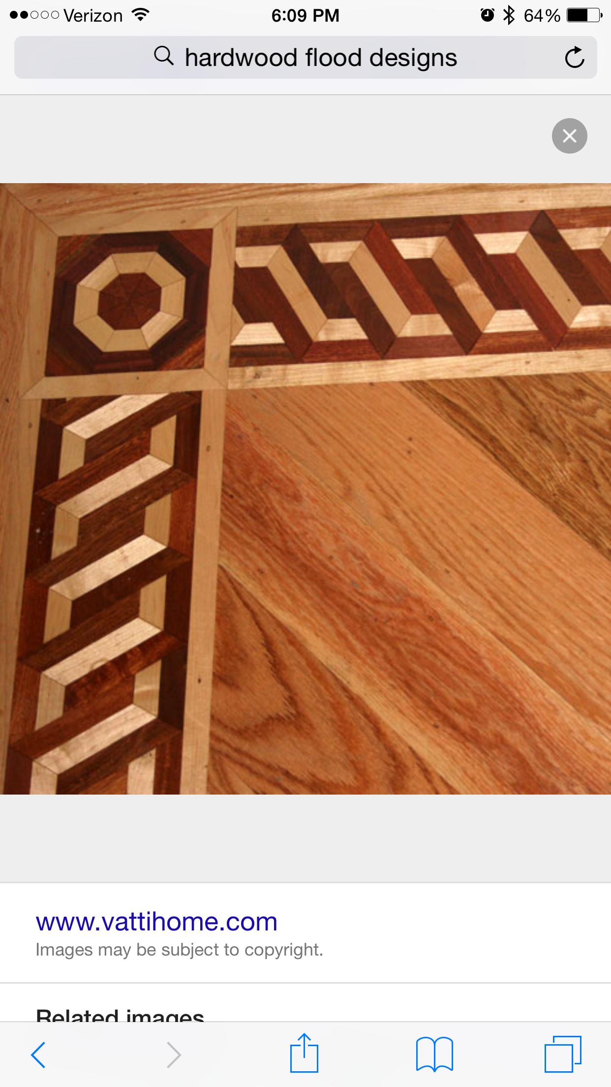 Unique Flooring Ideas Mosaic Floors Floor Patterns Brazilian Cherry Hardwood