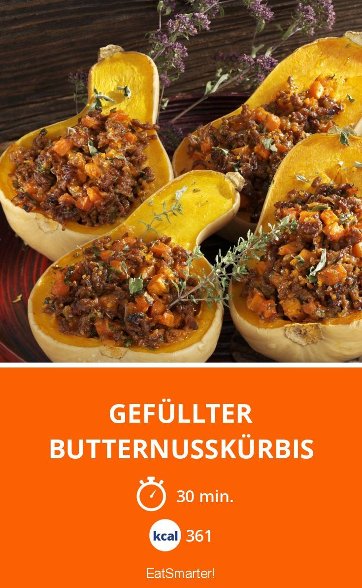 Photo of Gefüllter Butternusskürbis