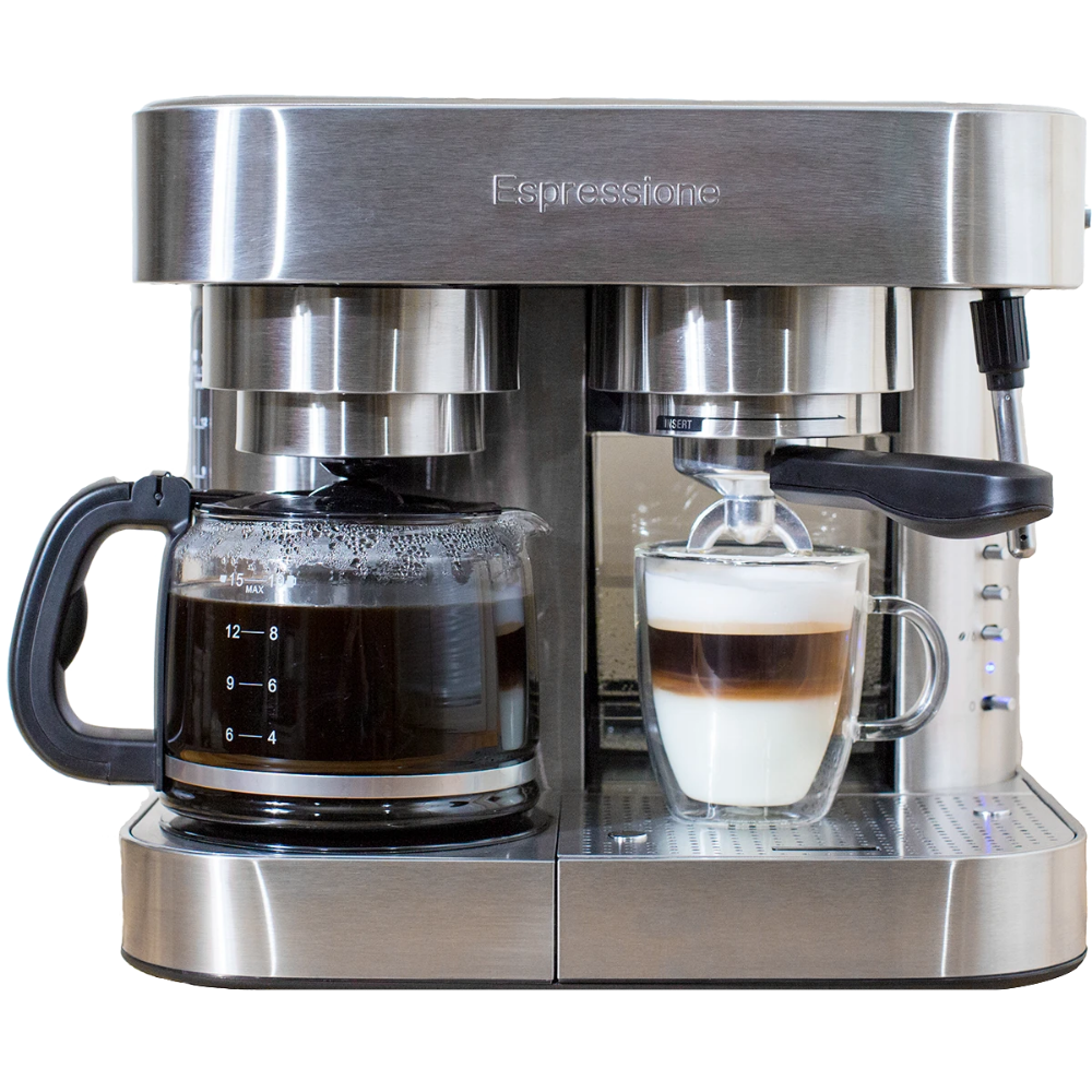 Espressione Combination Espresso Machine & 10Cup Drip