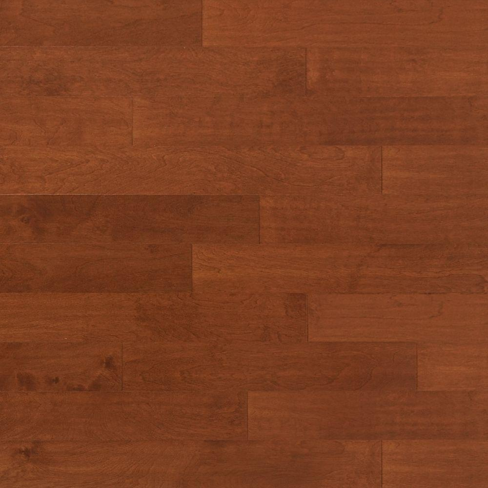 Heritage Mill Scraped Birch Sunset 3 8 In Thick X 4 3 4 In Wide X Random Length Engineered Click Hardwood Flooring 33 Sq Ft Case Pf9793 The Home Depot In 2020 Hardwood Floors Engineered Hardwood Flooring Flooring