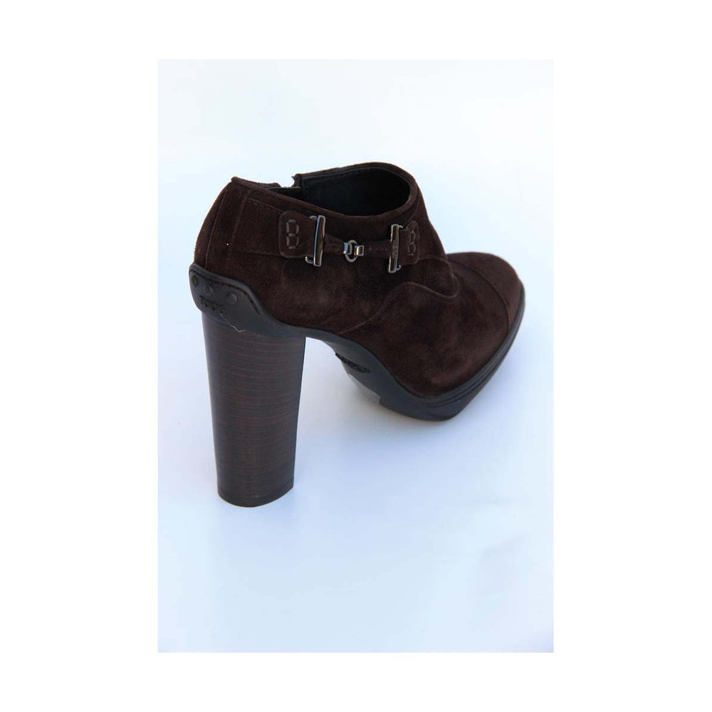 314.43$  Buy now - http://visku.justgood.pw/vig/item.php?t=kbmuqip56432 - Brown 36.5 EUR - 6.5 US (244mm) Tod\s ladies ankle boot XXW0OJ0D290HR0S800