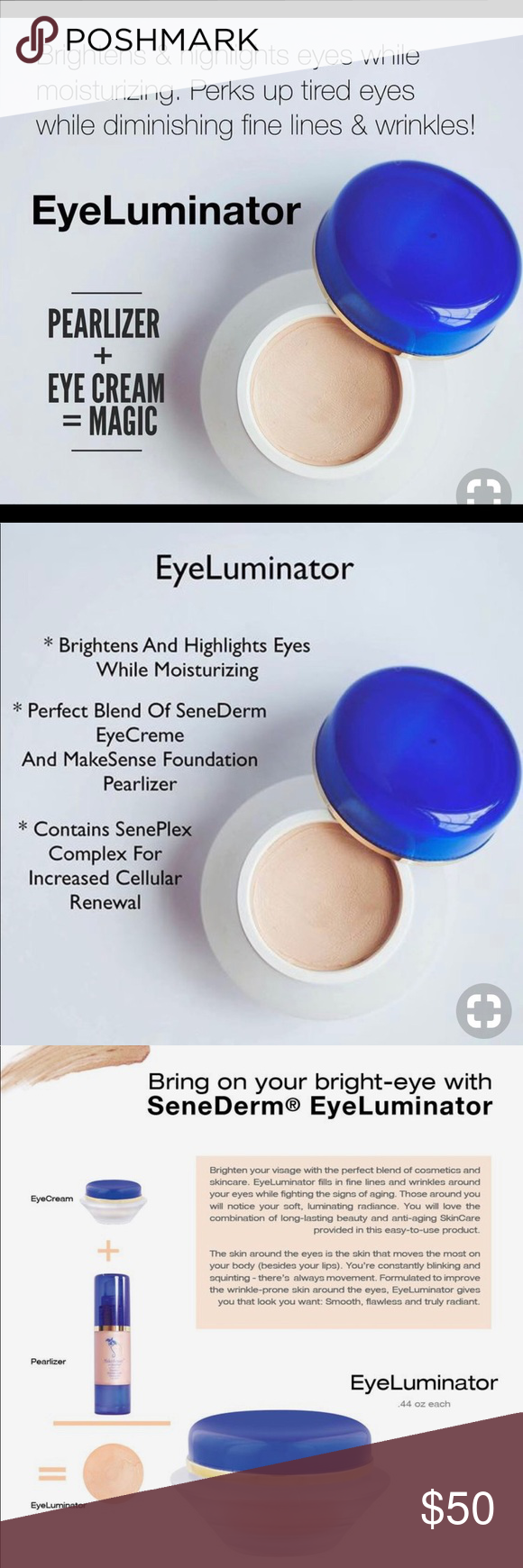 Senegence Eyeluminator The Perfect Blend Of Senederm Eyecreme And