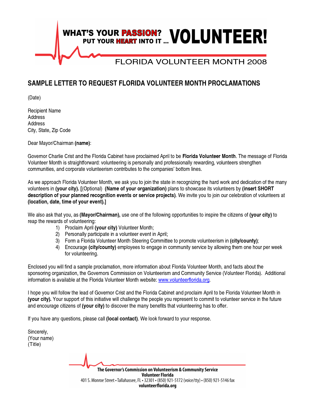 Volunteer Letter Template Desktopvolunteer Letter Template Application  Letter Sample