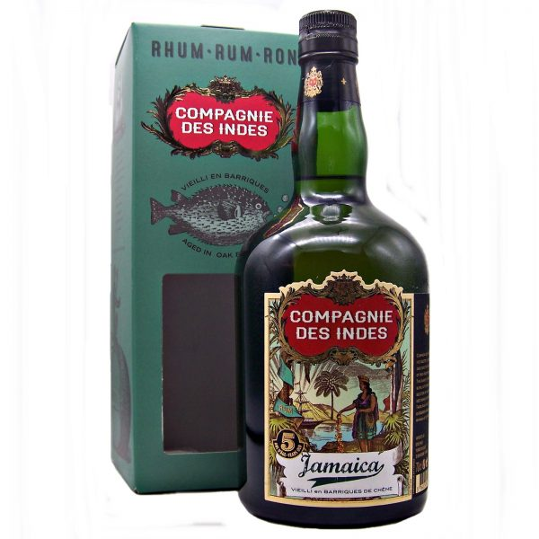 Campagnie Des Indes 5 year old Jamaican Rum in 2020 Rum