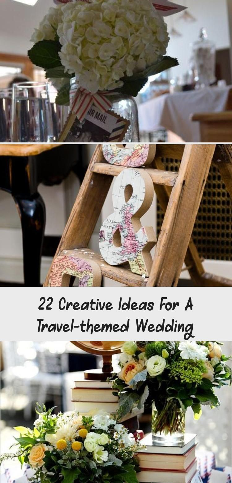 This is a picture of 43 Creative Ideas for a Travel-Themed Wedding - weddingtopia