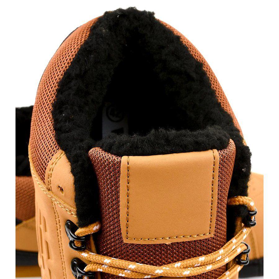 Zolte Ocieplane Sniegowce 9wh917 Czarne Wielokolorowe Mens Snow Boots Snow Boots Boots Men
