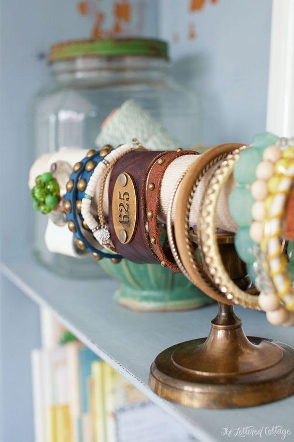 DIY Bracelet Holder | The Lettered Cottage