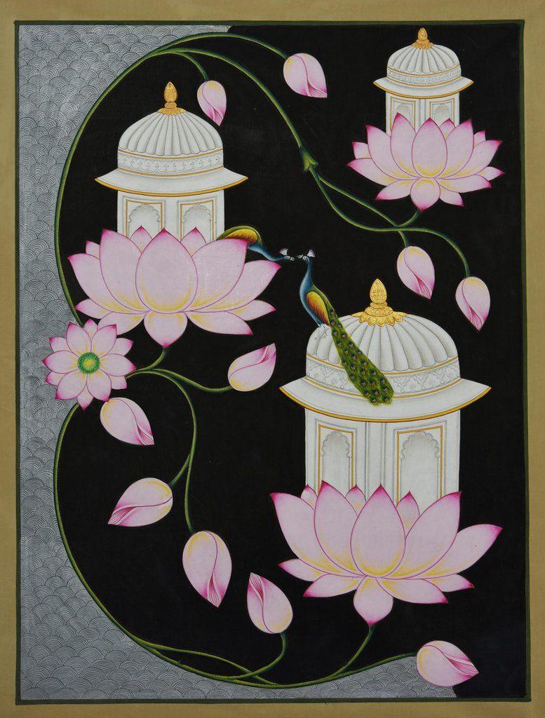 Lotuses and Peacocks