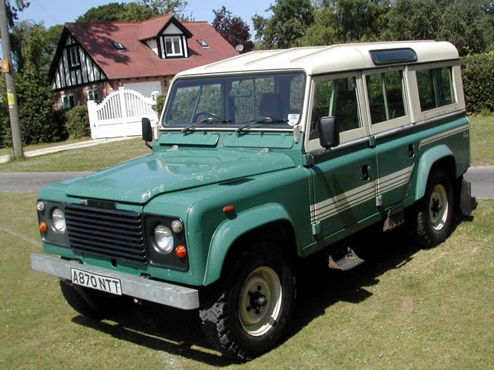 1984 Land Rover Defender 110 County Station Wagon | land rover ...