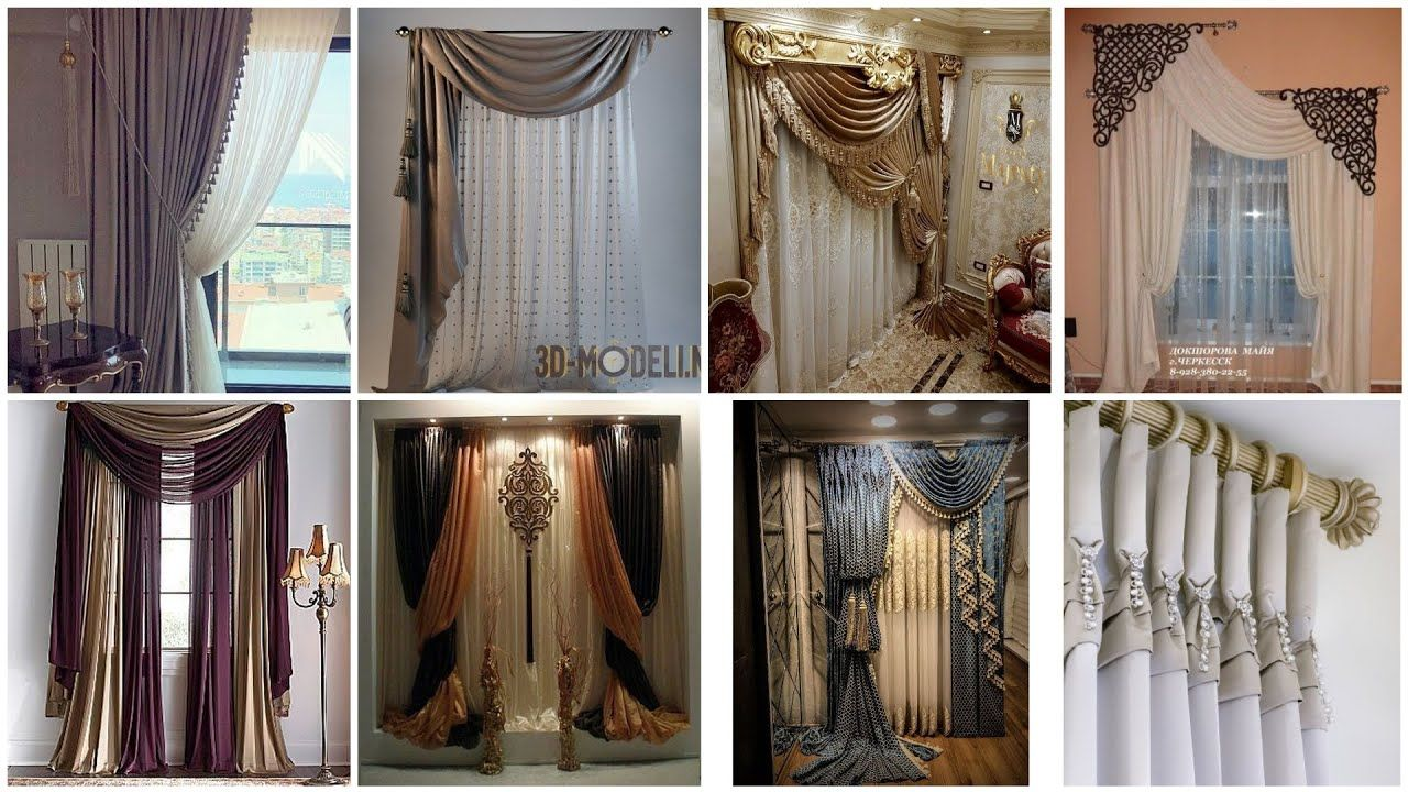 living room and bedroom curtains