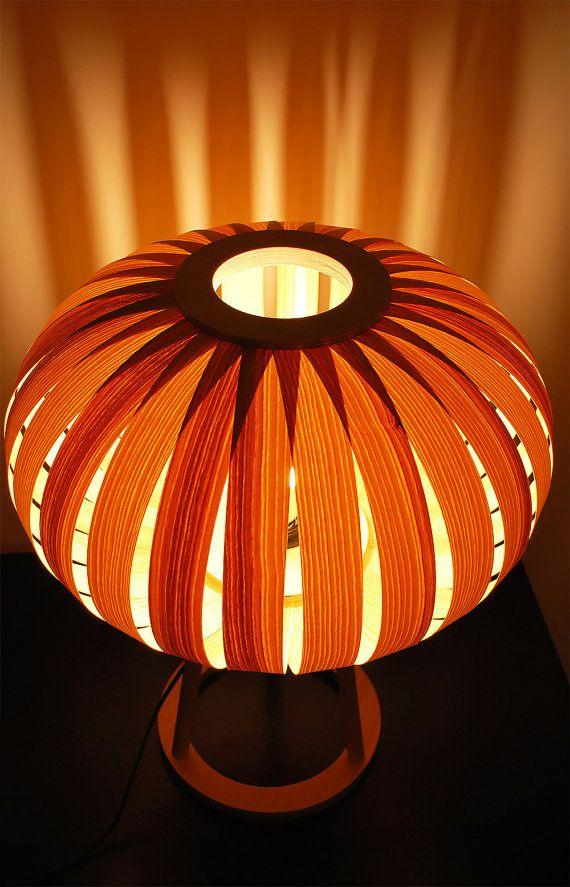Table Lamp Modern Natural Wood Ash Veneer Desk Lamp Light Bedside Lamp Modern Table Lamp Exclusive Lamp Lamp