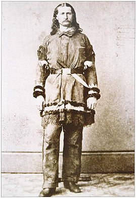 Will Bill Hickok, in his working clothes.  Not a man to cross lightly.