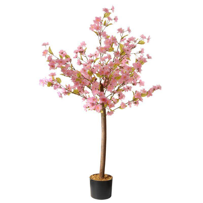 Blossom Floor Flowering Plant In Pot Artificial Cherry Blossom Tree Blossom Trees Cherry Blossom Tree